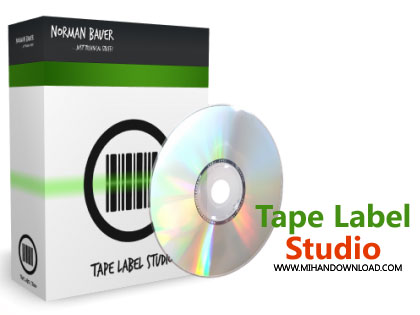 Tape Label Studio دانلود نرم افزار ساخت برچسب بارکد Tape Label Studio v2.1.0.2842