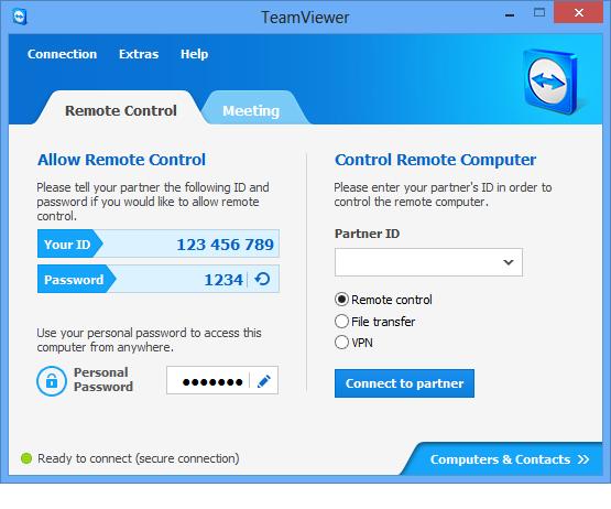 TeamViewer 1 دانلود  TeamViewer Corporate 12.0.75813  نرم افزار تیم ویورر
