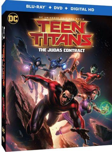 Teen Titans The Judas Contract 2017 1 دانلود انیمیشن Teen Titans: The Judas Contract 2017