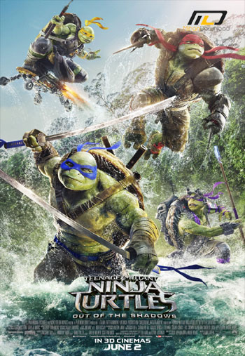 دانلود انیمیشن سینمایی Teenage Mutant Ninja Turtles Out of the Shadows 2016