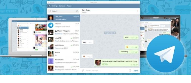 Tele5g دانلود تلگرام جهت کامپیوتر Telegram Desktop