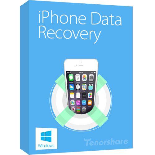 Tenorshare iPhone Data Recovery دانلود نرم افزار بازیابی اطلاعات آیفون Tenorshare iPhone Data Recovery 6.8.0.0