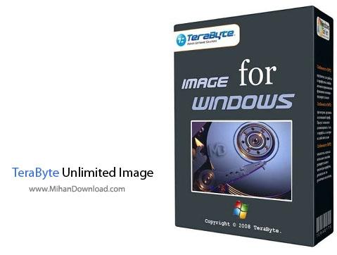 TeraByte Unlimited Image نرم افزار پشتیبان گیری از اطلاعات TeraByte Unlimited Image For Windows 2 89 Retail