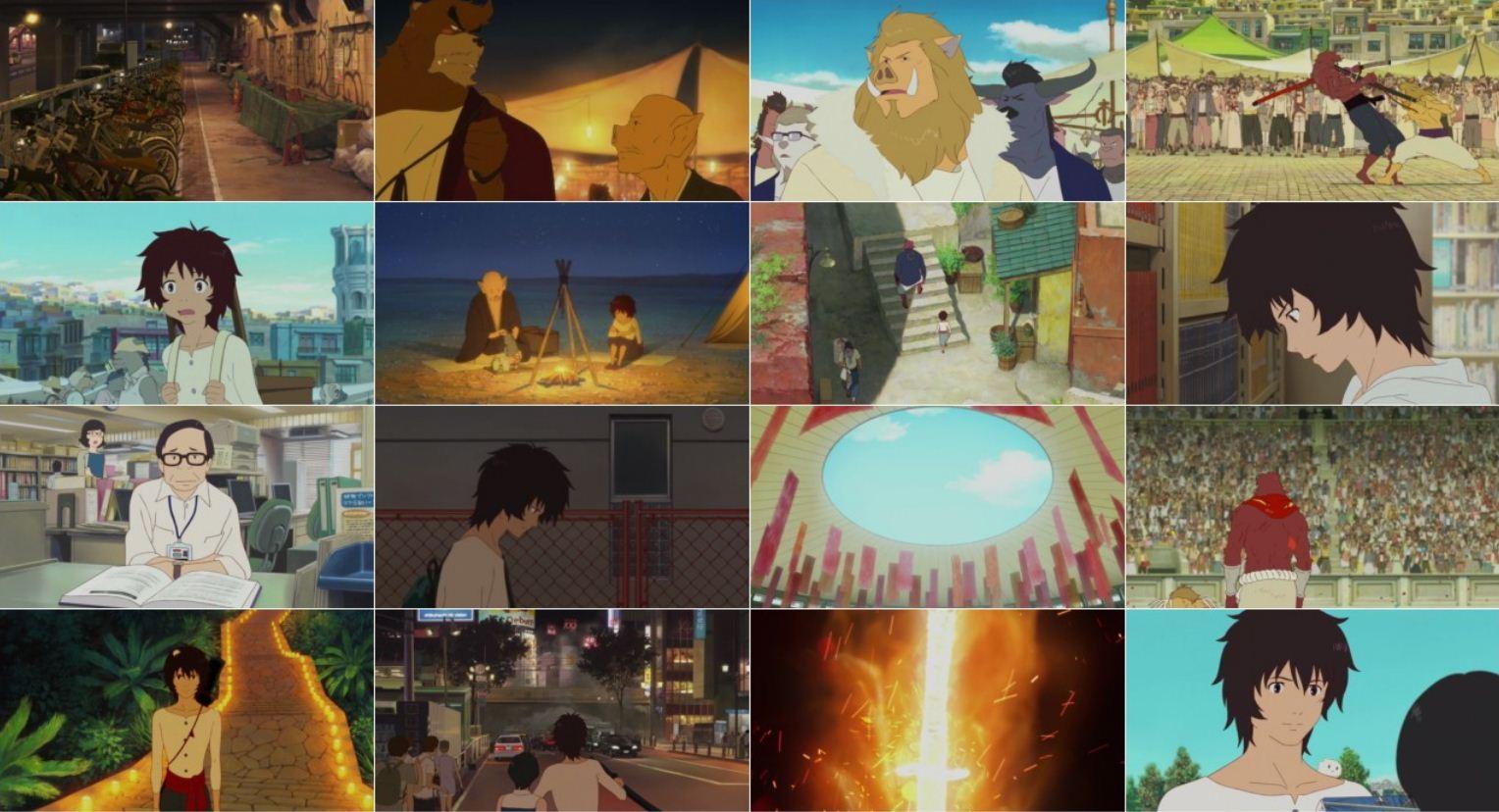 The Boy and the Beast 2 دانلود دوبله فارسی انیمیشن پسر بچه و هیولا