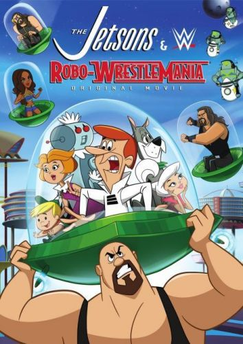 The Jetsons And WWE Robo WrestleMania 2017 دانلود انیمیشن The Jetsons And WWE Robo WrestleMania 2017
