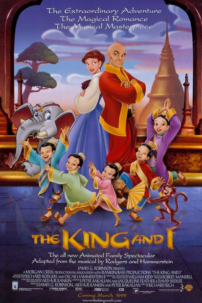 The King and I 1999 دانلود انیمیشن پادشاه و من The King and I