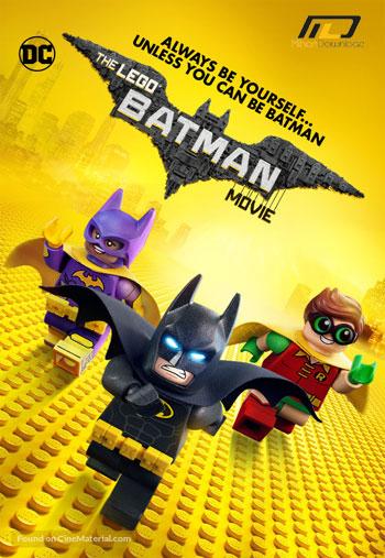 The LEGO Batman Movie 2017 دانلود انیمیشن بتمن لگویی The LEGO Batman Movie 2017