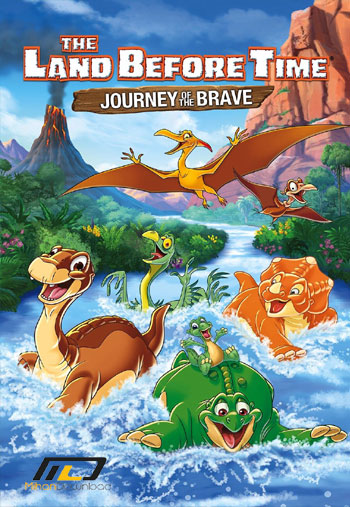 دانلود انیمیشن  ۲۰۱۶ The Land Before Time XIV: Journey of the Brave