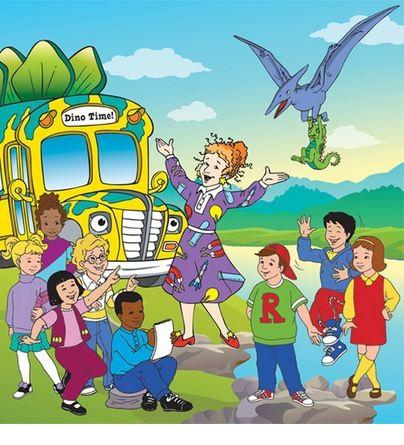 The Magic School Bus دانلود کارتون قدیمی سفرهای علمی