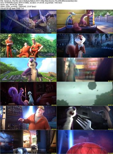 The Nut Job 2 Nutty by Nature 2017 2 دانلود انیمیشن The Nut Job 2: Nutty by Nature 2017