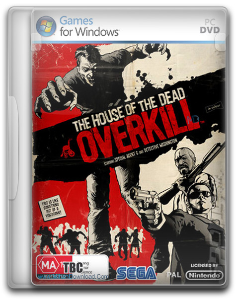 The Typing Of The Dead Overkill 1 دانلود بازی خانه ی مرگ The Typing Of The Dead Overkill