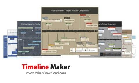 Timeline Maker نرم افزار ساخت جدول زمانی Timeline Maker Professional 2 6 41 14