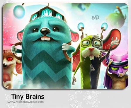 Tiny Brains دانلود بازی Tiny Brains برای کامپیوتر