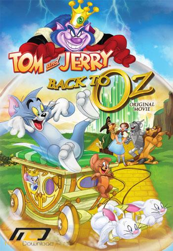 Tom Jerry Back to Oz دانلود انیمیشن تام و جری: بازگشت به اوز ۲۰۱۶ Tom & Jerry: Back to Oz