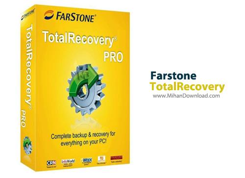 TotalRecovery1 دانلود Farstone TotalRecovery Pro 10 0 Build 20131120 نرم افزار بازیابی فایل ها