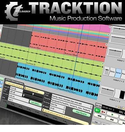 Tracktion دانلود نرم افزار ضبط و همچنین ویرایش موزیک Tracktion