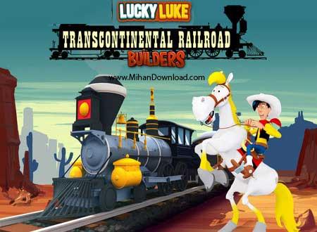 Transcontinental Railroad دانلود Transcontinental Railroad بازی لوک خوش شانس برای کامیپوتر