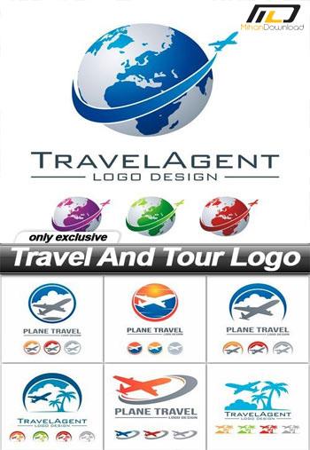 Travel And Tour Logo1 دانلود مجموعه آیکون Travel And Tour Logo