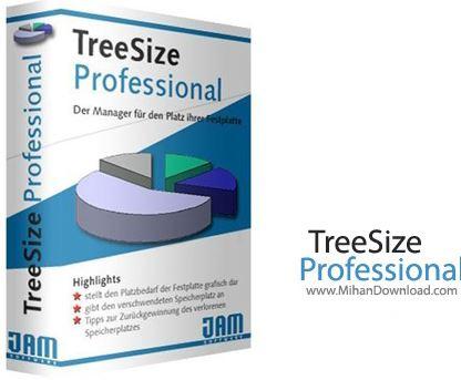 TreeSize نرم افزار بررسی فضای هارد دیسک TreeSize Professional 6 0 3 953