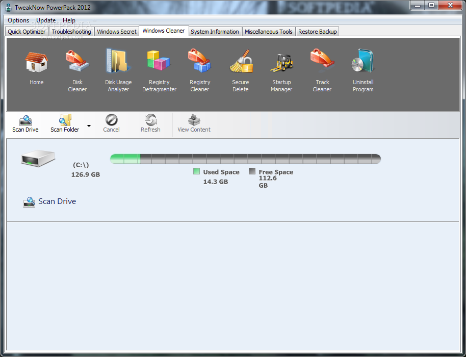 TweakNow PowerPack Standard 10 دانلود TweakNow PowerPack 4 3 1 نرم افزار بهینه سازی