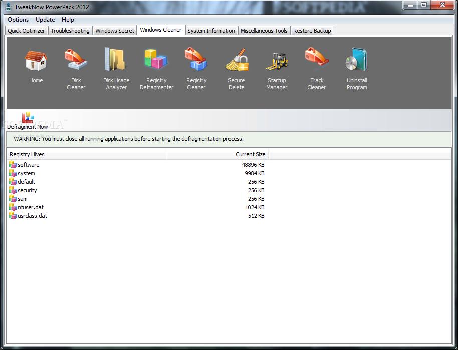 TweakNow PowerPack Standard 11 دانلود TweakNow PowerPack 4 3 1 نرم افزار بهینه سازی