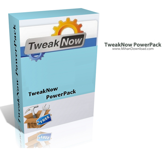 TweakNow دانلود TweakNow PowerPack 4 3 1 نرم افزار بهینه سازی