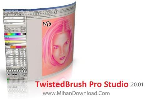 TwistedBrush Pro Studio 18 دانلود TwistedBrush Pro Studio 20.01نرم افزار طراحی