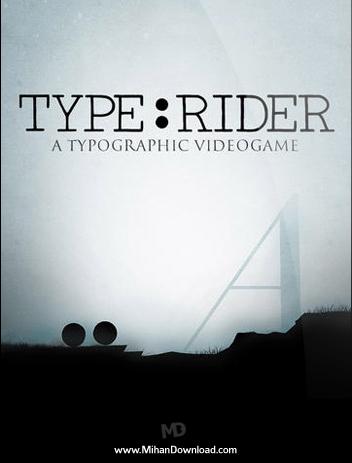 Type Rider دانلود بازی دویدن روی خط Type Rider
