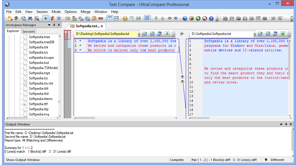 UltraCompare Professional 1 نرم افزار مقایسه فایل ها با یکدیگر IDM UltraCompare Pro 8 50 0 1028