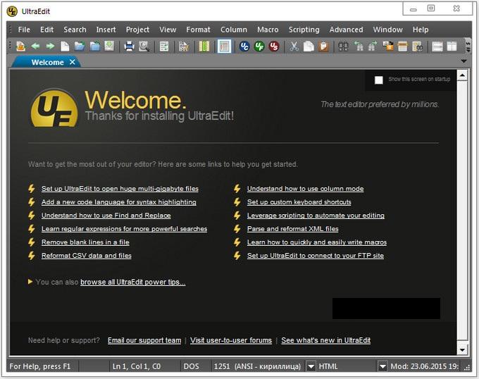 UltraEdt  دانلود IDM UltraEdit 22.20.0.28 Portable نرم افزار ویرایش متن