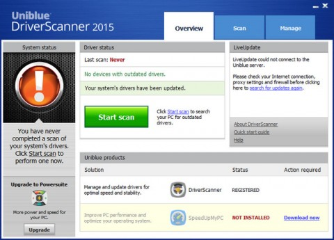 Uniblue5 e1426001355402 دانلود Uniblue DriverScanner 2015 4.0.14.2 نرم افزار اسکن و آپدیت درایورهای سیستم