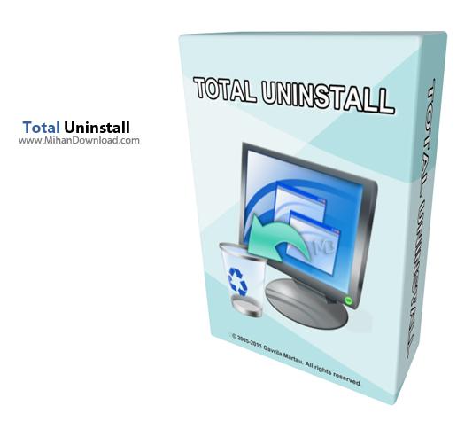 Uninstall دانلود Total Uninstall Pro 6 3 4 نرم افزار حذف کامل برنامه ها