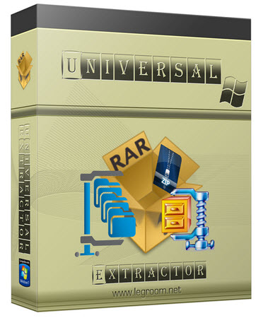Universal  دانلود Universal Extractor 1.6.1.2012 نرم افزار خارج نمودن فایل از حالت فشرده
