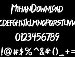 دانلود رایگان فونت هیجان انگیز Thriller Font