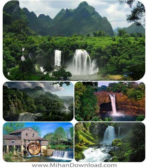 Untitled 140 دانلود مجموعه والپیپرهای زیبا از آبشارها و طبیعت