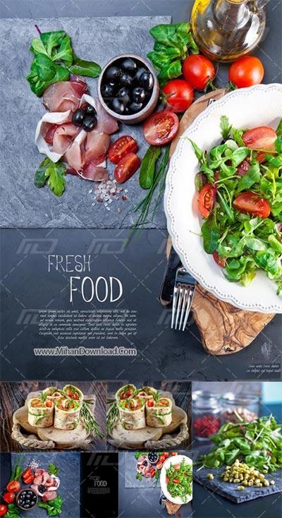 Untitled 41 دانلود تصاویر استاک غیر رایگان غذاهای تازه