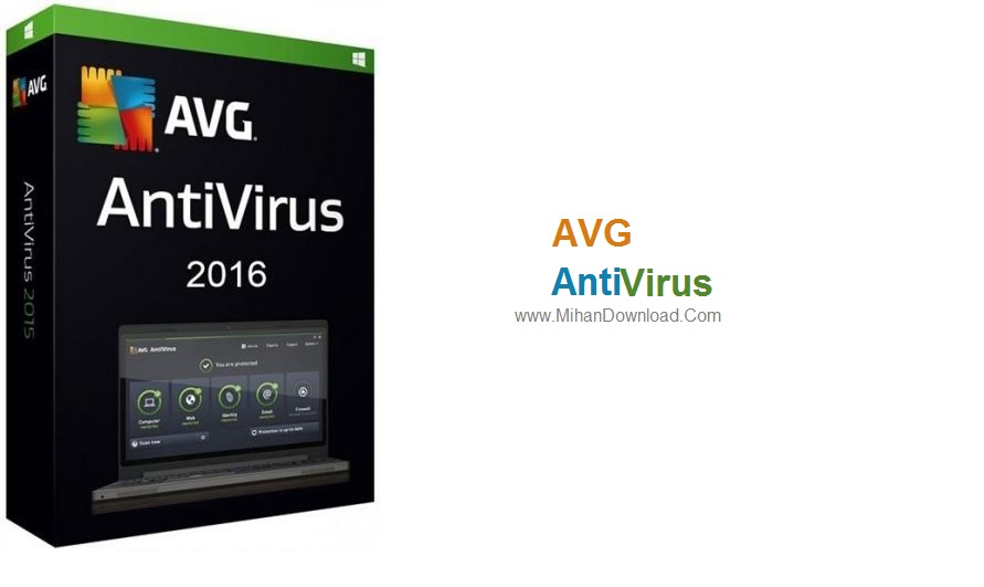 VG Antiviru1 دانلود  AVG AntiVirus Free 2016 v2016.111.7797 نرم افزار آنتی ویروس