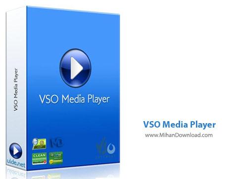 VSO Media Player پلیر فایل های صوتی و تصویری VSO Media Player 1 4 2 482