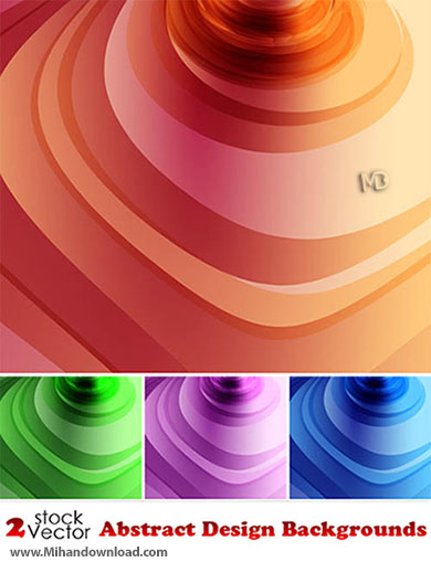 Vectors Abstract Design Backgrounds دانلود مجموعه وکتور گرافیکی زیبا 2013 Abstract Design Backgrounds