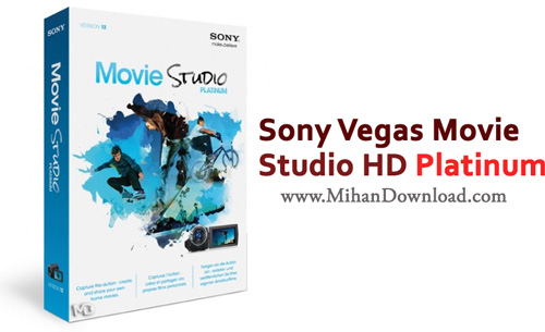 Vegas Movie دانلود نرم افزار ویرایشگر فیلم Sony Vegas Movie Studio HD Platinum 12 0 11