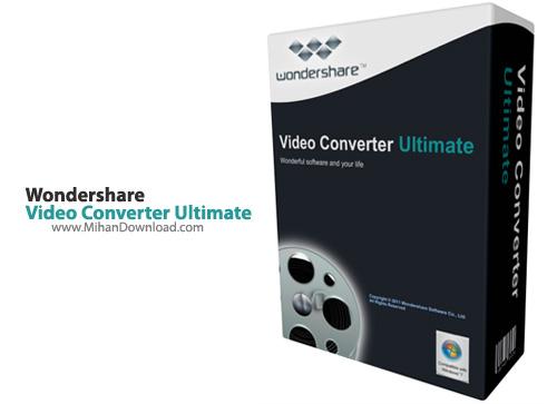 Video Converter Ultimate1 نرم افزار تبدیل فرمت ویدئو Wondershare Video Converter Ultimate 7 1 3 3