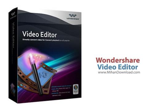 Video Editor1 دانلود Wondershare Video Editor 4.0.0.11 نرم افزار ویرایش فایل های ویدیویی