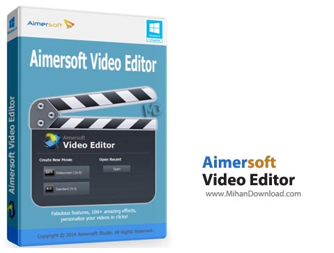 Video Editor2 نرم افزار ویرایش فیلم Aimersoft Video Editor 3 6 0 1