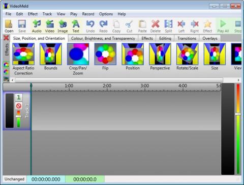 VideoMeld e1421765163625 دانلود VideoMeld 1.26 نرم افزار ویرایش فرمت های صوتی و تصویری