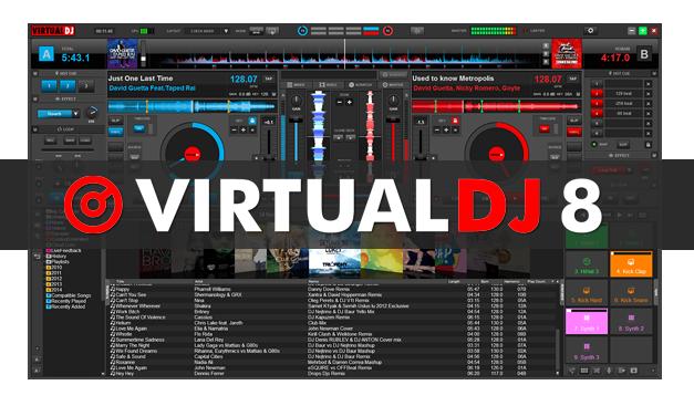 Virtual  دانلود نرم افزار دی جی Virtual DJ Pro 8.2 Build 3286.1170