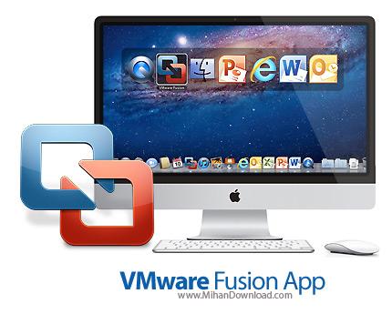 Vmware Fusion icon دانلود Vmware Fusion نرم افزار اجرای ویندوز در مک
