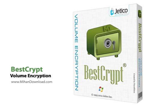 Volume Encryption نرم افزار رمزگذاری اطلاعات BestCrypt Volume Encryption 3 62 14