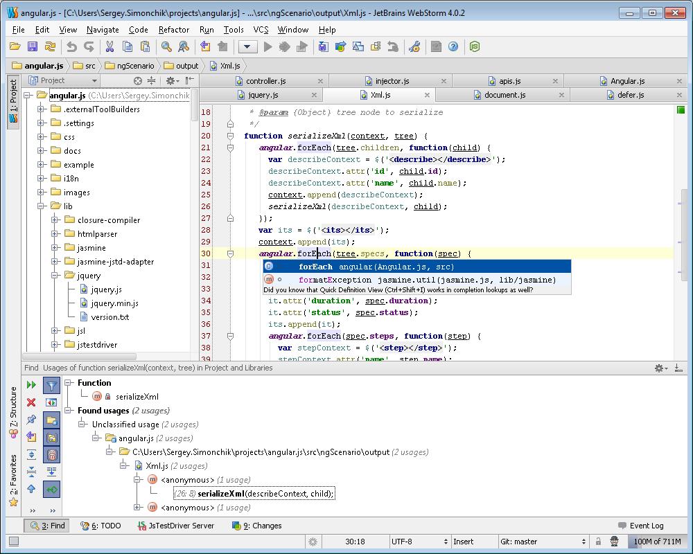 مرجع کامپیوتر و تکنولوژی بلاگفا - دانلود نرم افزار برنامه نویسی ...WS win دانلود JetBrains WebStorm 7 0 2 Build 131 515 نرم افزار ویرایش کد های