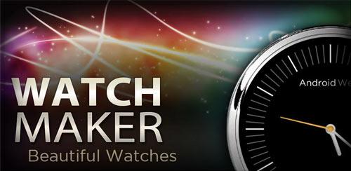 Watch Maker دانلود نرم افزار  طراحی ساعت WatchMaker Premium Watch Face 3.7.3 اندروید