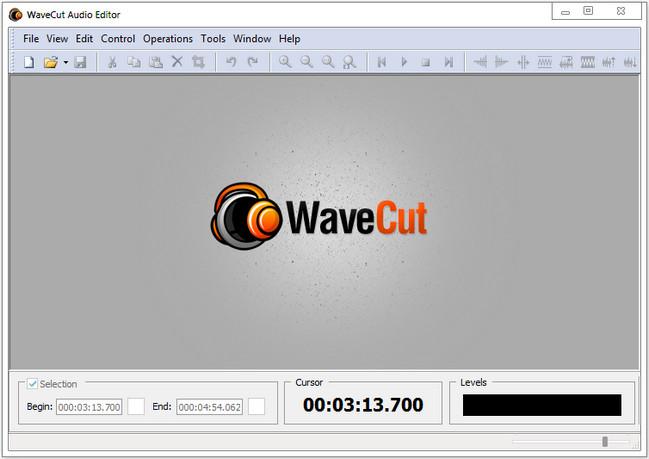 WaveCut دانلود نرم افزار ویرایش فایل صوتی